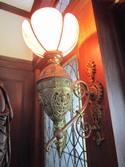 Yaddo_Manor_House_gilt_wall_lamp_fixture_2
